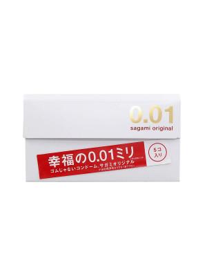 Sagami 相模原創 0.01 5 片裝 PU 安全套